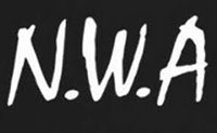 N.W.A. Logo - We'll leave what the acronym stand for up to your imagination.